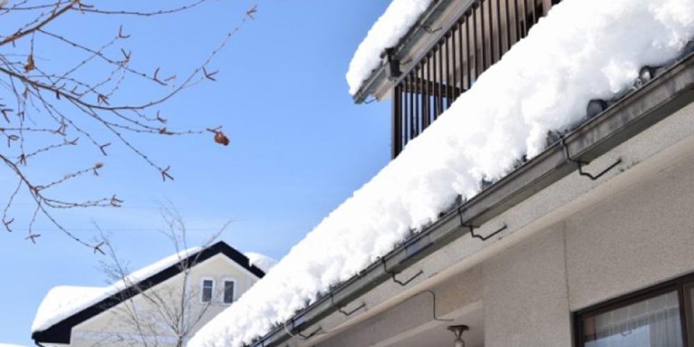 北陸の重い雪にも耐える構造強度